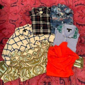 Lot jcrew blouses / tops
